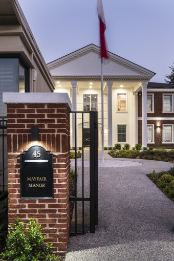 Mayfair Homes_Custom Built-Project Home more than $1million - front gate.jpg